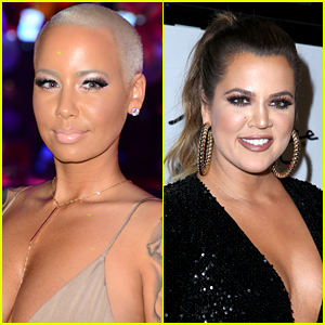 Amber Rose Continues Khloe Kardashian Feud with Nude Pics
