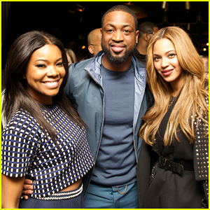 Beyonce Gets Together with Gabrielle Union & Dwyane Wade at NBA All-Star Party!