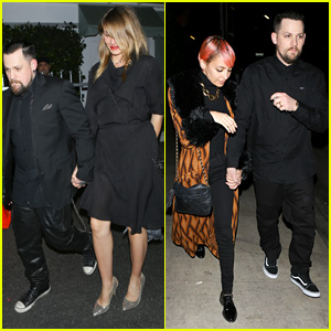 Cameron Diaz & Benji Madden Double Date with Nicole Richie & Joel Madden for Valentine's Day
