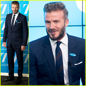 David Beckham Launches New Initiative with UNICEF, Son Brooklyn Wants to Start Helping!