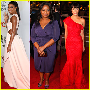 Gabrielle Union & Octavia Spencer Stun at NAACP Image Awards 2015