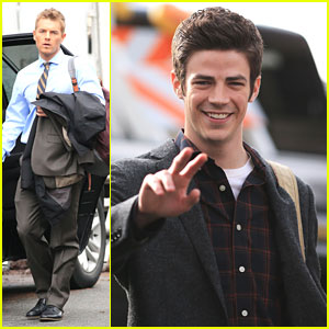 Grant Gustin & Rick Cosnett Send Happy Valentine's Day Wishes To 'Flash' Fans