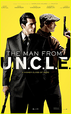 Henry Cavill & Armie Hammer Get Ready to Shoot in 'Man From U.N.C.L.E.' Poster & Trailer - Watch Now!