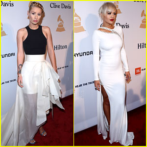 Iggy Azalea & Rita Ora Spend a Night Out Before the Grammys
