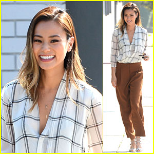 Jamie Chung Recovers After a Very Stressful Week