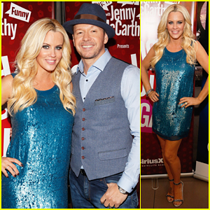 Jenny McCarthy Hosts 'Singled Out...Again' with Hubby Donnie Wahlberg on SiriusXM!