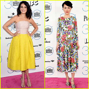 Jenny Slate & Rinko Kikuchi Represent the Leading Ladies at Independent Spirit Awards 2015