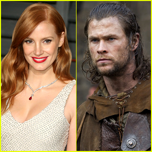 Jessica Chastain Joins Chris Hemsworth in 'Huntsman' Spinoff!