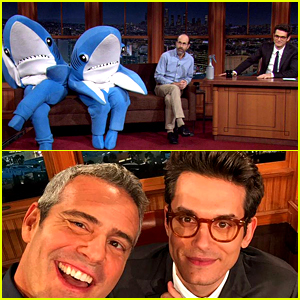 John Mayer Dances with Katy Perry's Sharks, Defends Her Halftime Show