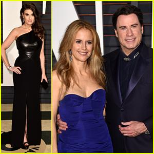 John Travolta Blames Adele Dazeem on Goldie Hawn (Video)