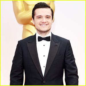 Josh Hutcherson Suits Up for Oscars 2015