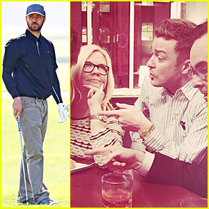 Justin Timberlake Takes 'SNL' Writing Session Break By Golfing