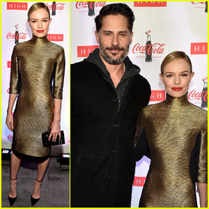 Kate Bosworth & Joe Manganiello Hit Up Coca-Cola Exhibit