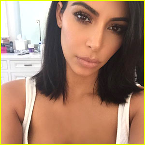 Kim Kardashian Shares Sexy Thong Photo With Fans!