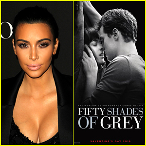 Kim Kardashian Shares Her 'Fifty Shades of Grey' Movie Review