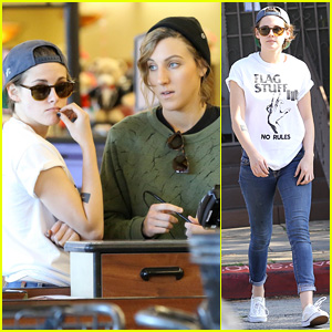 Kristen Stewart & Alicia Cargile Have 'No Rules' While Shopping