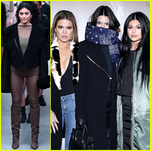 Kylie Jenner Walks the Runway in Kanye West's Fashion Show