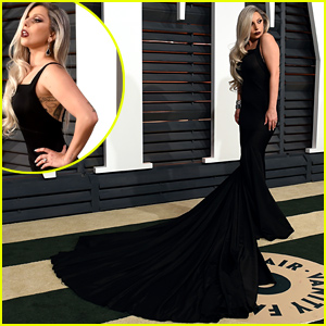 Lady Gaga Hits the Vanity Fair Oscars 2015 Party After Her Amazing Performance!