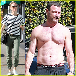 Liev Schreiber Shows Off His Shirtless 'Ray Donovan' Body