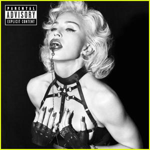 Madonna's Racy 'Rebel Heart' Super Deluxe Artwork Gets Parental Advisory Warning