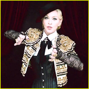 Madonna Channels Hot Matador in 'Living For Love' Music Video - Watch Now!