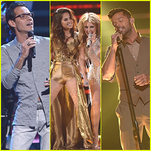 Marc Anthony, Ricky Martin & Becky G Take Over Premios Lo Nuestros Awards 2015