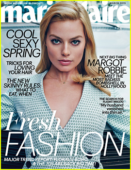 Margot Robbie to 'Marie Claire': My Look Is More 'Toothpaste Model' vs. Artsy Actress