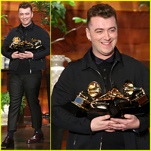 Sam Smith Wants His Future Boyfriend to Polish His Four Grammys