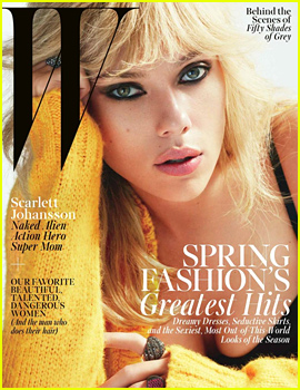 Scarlett Johansson Describes the First Moment She Saw Baby Rose in 'W' Magazine