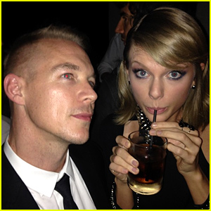 Taylor Swift & Diplo End Their Feud at the Grammys 2015 - See the Photo!