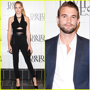 Teresa Palmer & Alex Russell Watch Jessica Gomes Hit the Runway at David Jones Autumn/Winter 2015 Collection Launch!