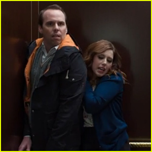 SNL's Vanessa Bayer Spoofs 'Fifty Shades of Grey' Elevator Scene - Watch Now!