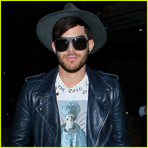 Adam Lambert Returns to the States After Queen European Tour