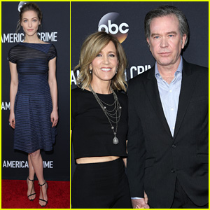 'American Crime' Stars Step Out For Big Red Carpet Premiere