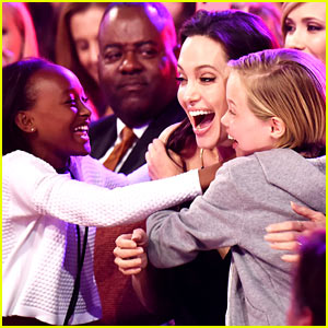 Angelina Jolie's Kids Have Best Reacti