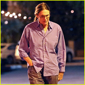 Bruce Jenner Grabs Dinner With a Friend