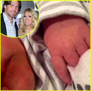 Carrie underwood husband mike fisher welcome baby boy for Mike fisher and carrie underwood baby