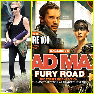 Charlize Theron & Tom Hardy Are Intimidating on 'Total Film' Cover