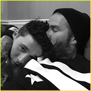 David Beckham Shares Sweet Photo of Him & Brooklyn For His 16th Birthday!