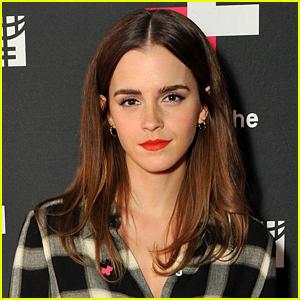 Emma Watson Is 'Terrified' to Star in 'Beauty & The Beast'