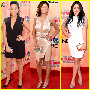 Gina Rodriguez & Jessica Szohr Hit Up the iHeartRadio Awards 2015!