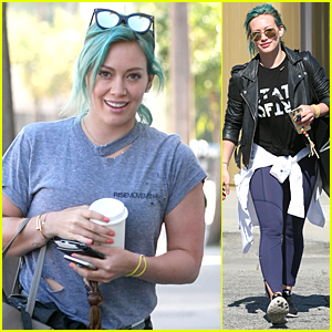 Hilary Duff's Pregnant Sis Haylie Loaded Up on Sweets at Luca's Birthday Party