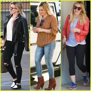 Hilary Duff Thanks Fans For Always Brighening Up Her Day