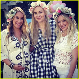Hilary Duff Throws Sister Haylie a Baby Shower!
