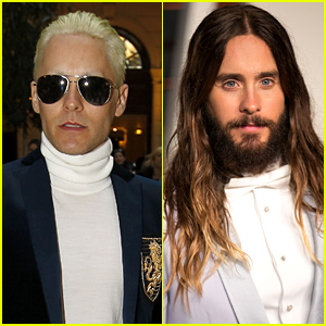 Jared Leto Cut His Hair & Dyed It Blonde! (Photos)