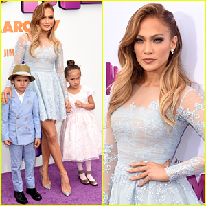 Jennifer Lopez Brings Her Kids Max & Emme to 'Home' Premiere!