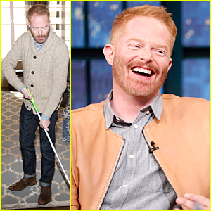 Jesse Tyler Ferguson Offers Seasonal Allergy Cleaning Tips Before 'Late Night' Appearance