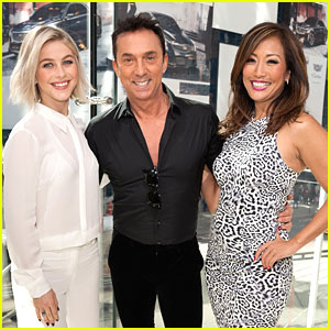 Julianne Hough Continues DWTS Promo With Carrie Ann Inaba & Bruno Tonioli in NYC