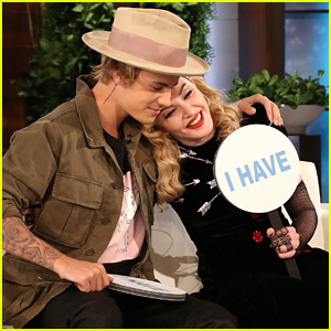 Madonna & Justin Bieber Both Admit to Dating Siblings During 'Never Have I Ever' Game on 'Ellen' - Watch Now!