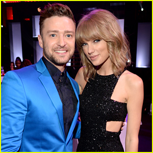 Taylor Swift & Justin Timberlake Hang Out at iHeartRadio Music Awards 2015